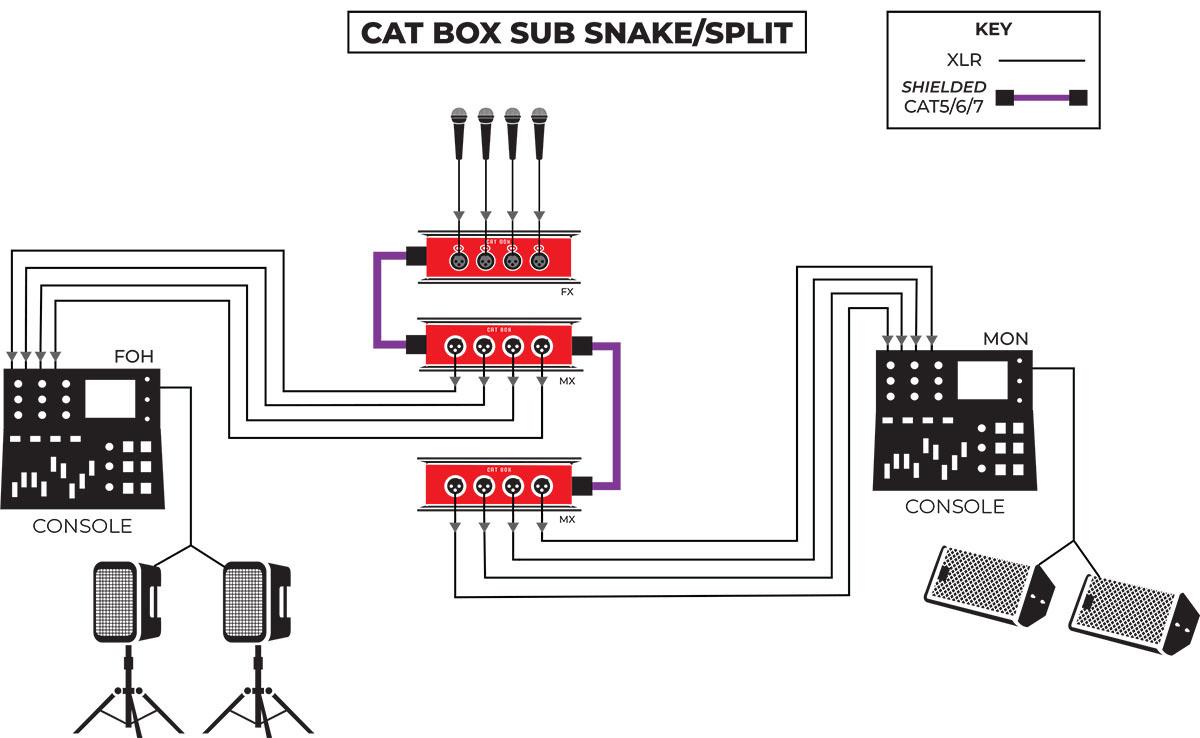CAT Box Sub Snake Application
